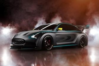 Thunder Power Race model - Front