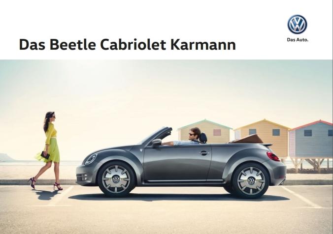 VW Beetle Cab Karmann