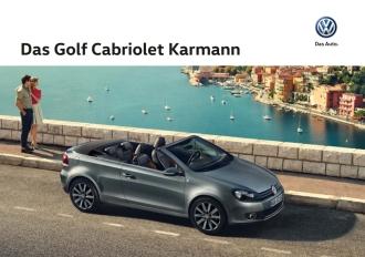 VW Golf Cab Karmann