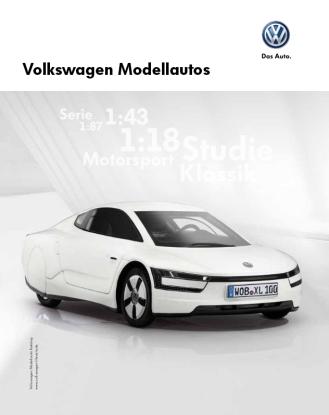 VW modellautos